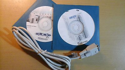 Programming Cable With Manuals And Software For Automation Direct Koyo Click Plc