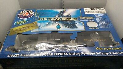 Lionel Polar Express Christmas G-Guage Train Set 2009 Rail Nice No Bell Or Figur