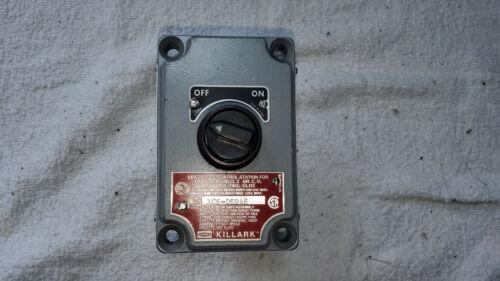 New Killark XCS Series Selector Switch XCS-0S2A5 2NC 2NO Explosion Proof ON OFF