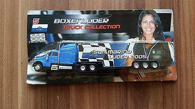 Minitruck 1:87 Formel 1 Truck Collection 2005 Boxenluder Nr. 5 San Marino in OVP
