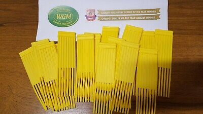 GENUINE WESTWOOD Yellow Sweeper Brushes (Pack of 60)
