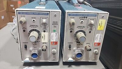 Tektronix Tm501 W Am503b Current Probe Amplifier With Mainframe Case