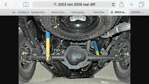 Rear diff from 2003 ram 2500 with spare gears