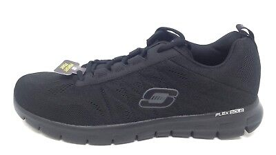 NEW! Men's SKECHERS SYNERGY - POWER SWITCH 51188 Black 89VW mm