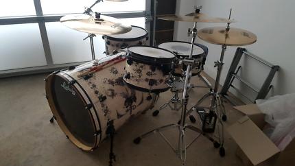 Rare Ludwig Corey Miller signature drum kit