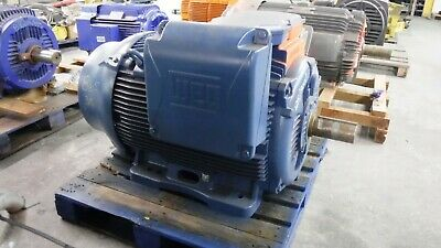 125 Hp Weg Ac Electric Motor 900 Rpm Fr 315sm Tefcbb 460 V New