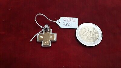 Pendant Religious Solid Silver Cross Styled - REF42396