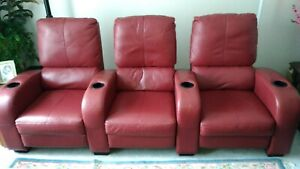 Home Theatre Seating / Reclining Lounge Chairs