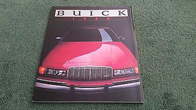 1988 BUICK RANGE BROCHURE 82PAGE Riviera Electra Le Sabre Regal Century Skylark
