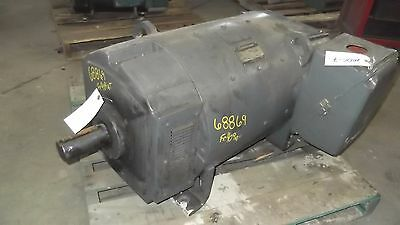 150 Hp Dc General Electric Motor 1750 Rpm 409at Frame Dpfv 500 V Arm.