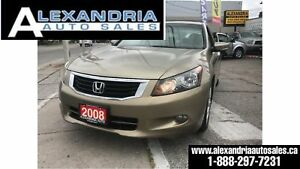 2008 Honda Accord EX-L/158Km/very clean/leather/sunroof/158km