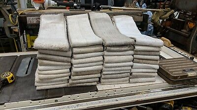 40 Used Cleaned Singed Polyester Baghouse Sock Filters 96