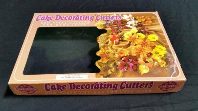 JEM Cake Decorating Cutter Flower Sets Leaf Veiners Flower ...