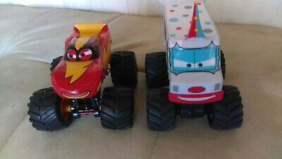 Disney Pixar Cars Diecast Toons Lot Rare X Large Frightening McMean & I-Screamer