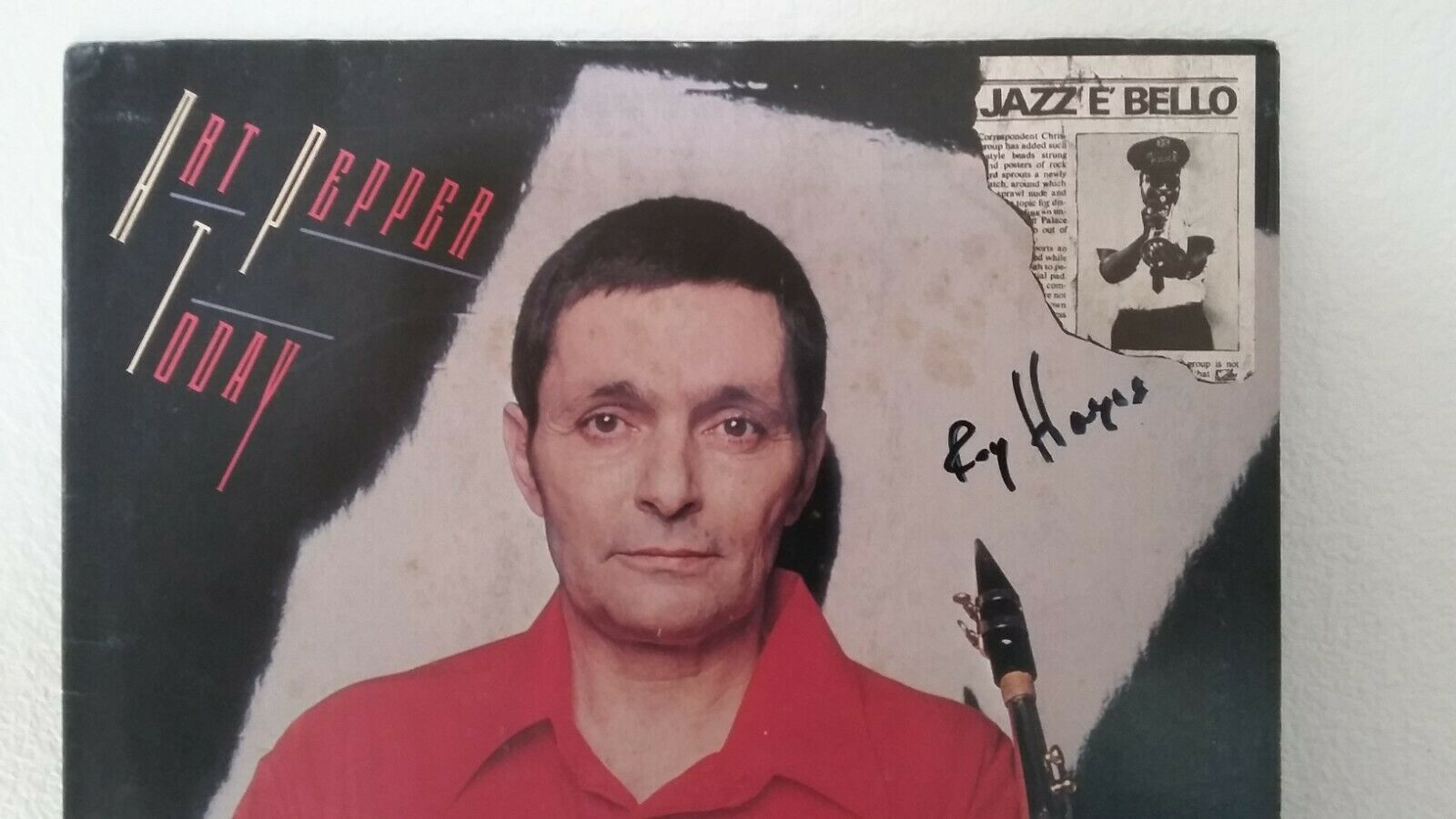 Art Pepper - Today - Signed by Roy Haynes! I OFFER PAYMENT PLANS!