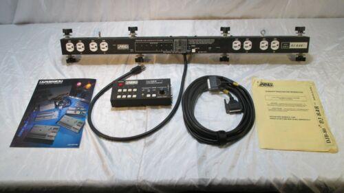 James Stage Lighting Products DJ Bar DJB-80 Chase Relay + DJB-RC Remote Control