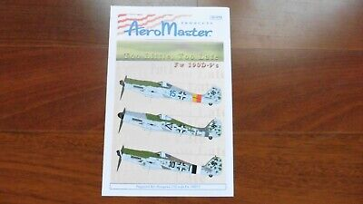 Aeromaster 1/32 Focke Wulf FW-190 Too Little Too Late Pt.1 32-012 Mint