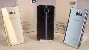 BRAND NEW BLACK/WHITE/GOLD SAMSUNG GALAXY NOTE 4/5 $269 UNLK