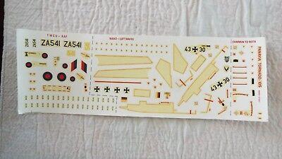 AIRFIX 1/72 SCALE ORIGINAL DECAL SHEET for PANAVIA TORNADO Gr.1 / IDS # 04027