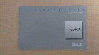 Fluke 8840a Multimeter A New Users Guide Manual Oem 6f B7