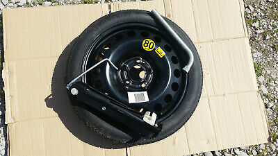 VAUXHALL ZAFIRA B 2005 - 2014 5 STUD 16 INCH SPACE SAVER SPARE WHEEL  KIT