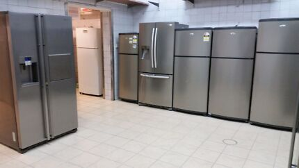 Refurbished with warranty fridges & washing machines