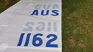 Main sail - 9.5m luff 3.37 foot - dacron - North Sails Brunswick West Moreland Area Preview