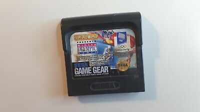 Winter Olympic Games (Sega Game Gear, 1994) FAST FREE SHIPPING