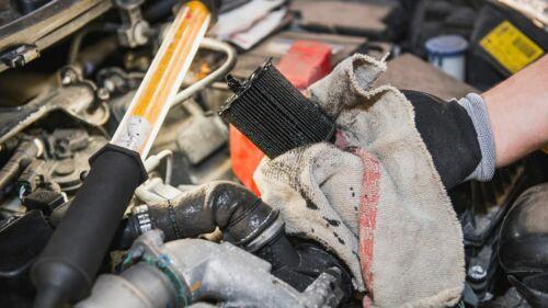 Ölfilter wechseln Ölfilterzange 90-120 mm
