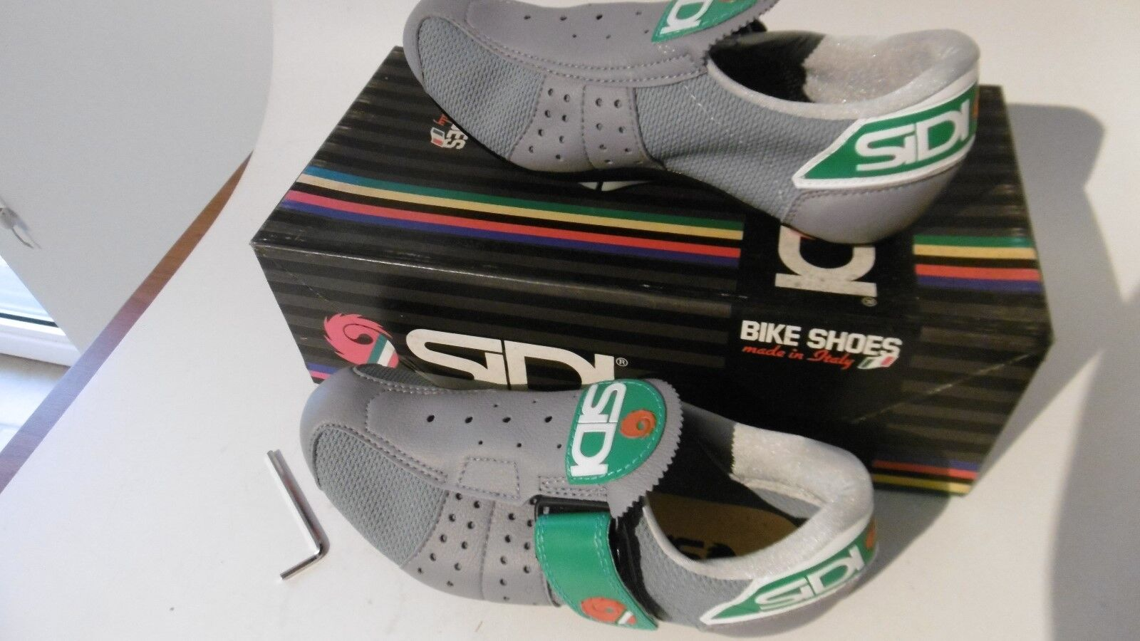 Vintage SIDI Cycling Shoes Size 37 Made In Italy NOS