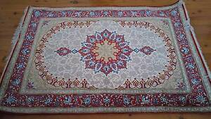 A Hand-Knotted, Silk, 70 Raj Qom Style Persian Carpet Marrickville Marrickville Area Preview