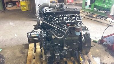 Perkins 4 Cylinder Diesel Engine 4.41 236 Chipper Skid Steer Power Unit