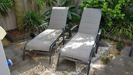 Sun lounges x 2 Maroubra Eastern Suburbs Preview