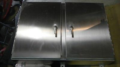 Hoffman Stainless Steel Custom Enclosure A30h4210wfsslp3pttype4xread Detail
