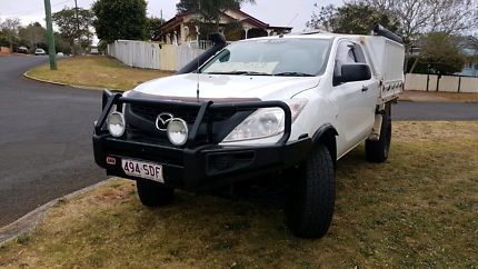 2012 Mazda bt50 xt extra cab manual