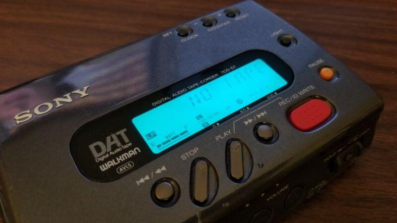 Sony Datwalkman Tcd-D7