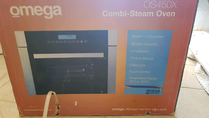 NEW in box Omega combi steam oven rrp $1900