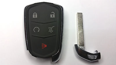 2015-2016 Cadillac SRX Smart Keyless Entry Remote w/ Insert Emergency Key