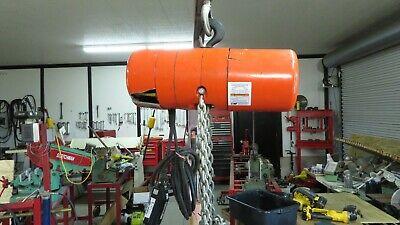 Cm Lodestar Model L 1 Ton 1hp Electric Chain Hoist 230460v 3ph - 36840