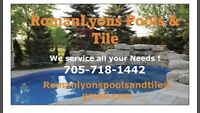 Pool Openings , Hot Tubs , Tile & More !!