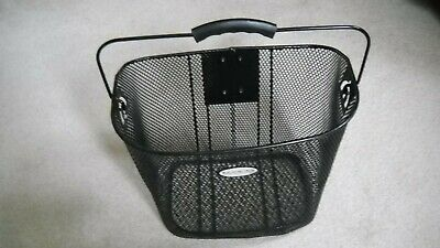 Authentic Schwinn Bicycle Basket Quick Release Wire Shopping Basket NEW!