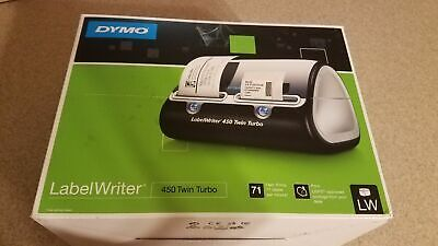 Dymo Labelwriter 450 Twin Turbo Label Thermal Printer Pc Mac - 1752266