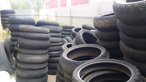We pay you. Motorcycle tyres, great for making Motocross track Salisbury South Salisbury Area Preview