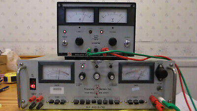Transistor Devices Dlp 400-5-750 Electronic Load Tested Works As-is Read
