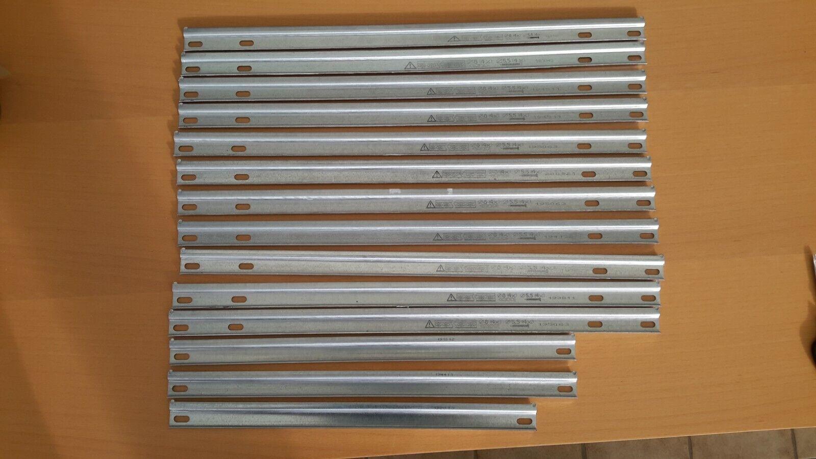 14 Aufhängeschienen, Schiene für Hängeschränke,verschiedene längen. Nolte Neu