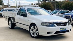 2007 FORD FALCON BF MKII LPG SUPER CAB ONE TONNER UTE - STEEL TRAY FINANCE AVAILABLE -TRADE INS OK! South Windsor Hawkesbury Area Preview