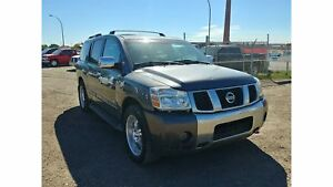 2005 Nissan Armada LE 5.6L 4x4 Leather DvD! Inspected W/Warranty