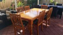 Pine dining suite Joondalup Joondalup Area Preview