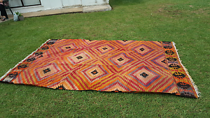 100% wool, handwoven Turkish Kilim Rug Westmead Parramatta Area Preview