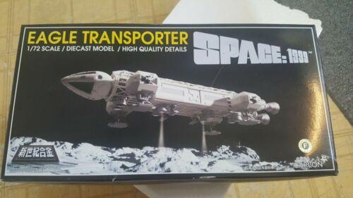 RARE Japanese Carlton die cast Space 1999 Eagle transporter MIB